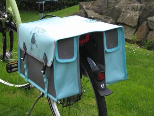 Ebook klasse kleckse - HOPPHOPPHOPP Fahrradtasche in zwei Größen von farbenmix