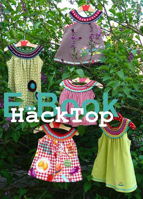 Ebook Kreativ HäckTop von farbenmix - Boho-Style - schnell genähtes Oberteil