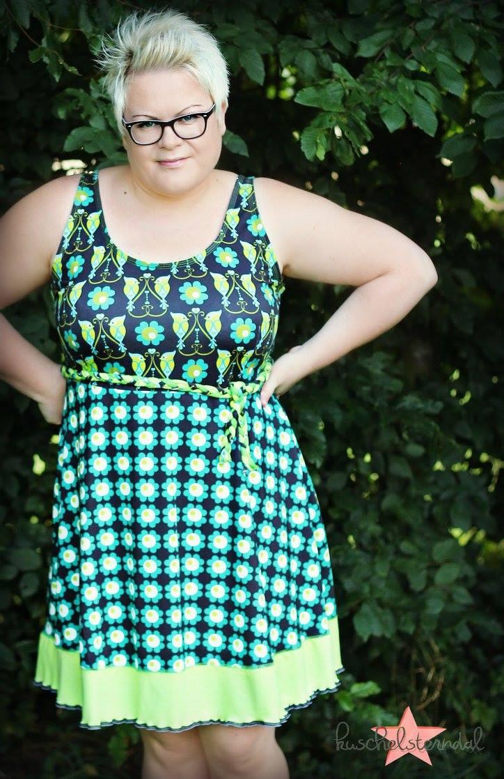 Jerseykleid auch für Plussize