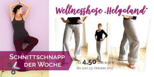 Wellnesshose Yogahose nähen mit Schnittmuster Helgoland von farbenmix design schnittreif