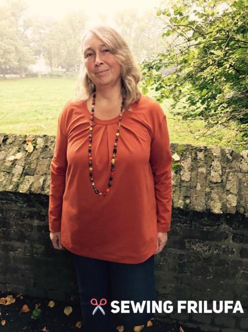 Big Lady Leana - ein Designbeispiel von sewing frilufa
