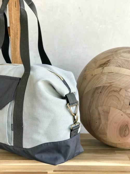 Reisetasche fürs Handgepäck nähen mit der JetSet der Taschenspieler 4 von farbenmix