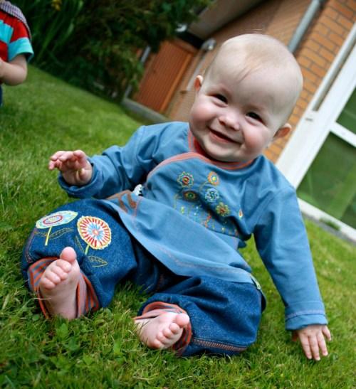 Longpulli aus der zwergenverpackung vol. - Ebook von farbenmix - Kleidung für Babies selber nähen