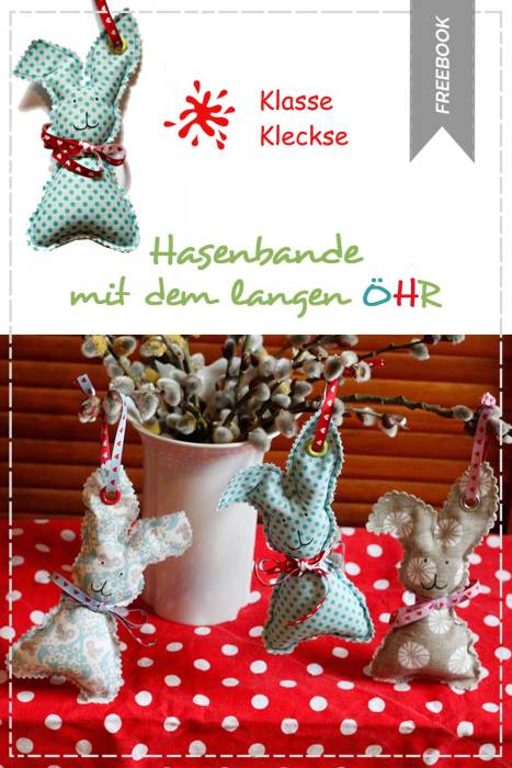 Oster Freebook - hasenbande mit langen öhr - näh dir was für Ostern mit farbenmix