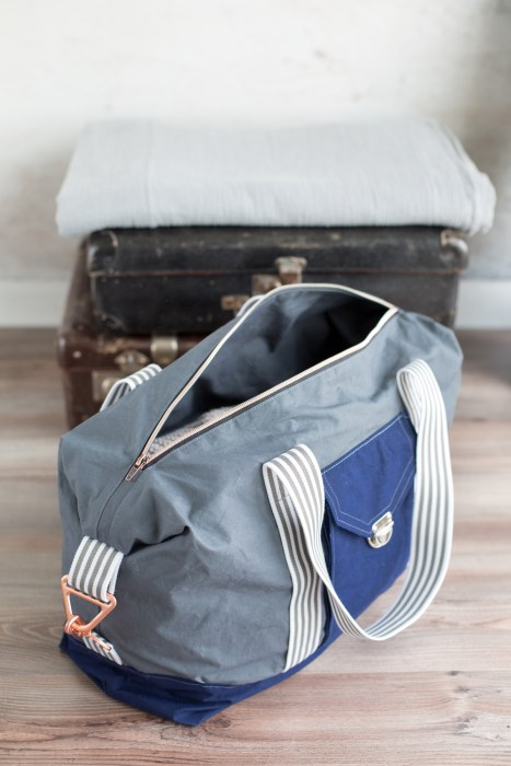 JetSet Tasche - Taschen nähen mit farbenmix