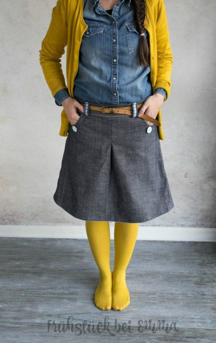 Damenrock nähen - Amy von farbenmix - design Jolijou