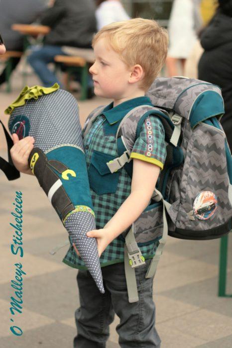 Kinderhemd nähen für Einschulung mit Schnittmuster Ebook von farbenmix JOEY