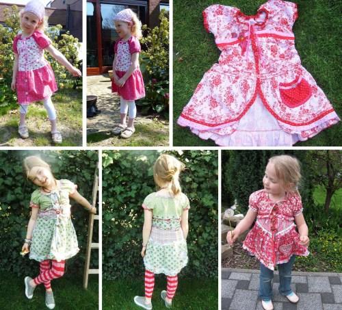 Blusenkleid DESTINA - ein bequemes und weites Schnittmuster für ein Blusenkleid für Mädchen - jetzt als Ebook bei farbenmix