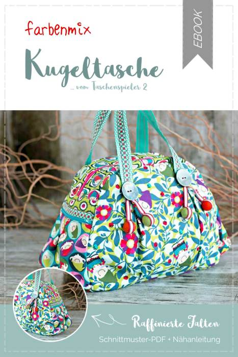 Kugeltasche als Einzelebook jetzt neu bei farbenmix im Shop