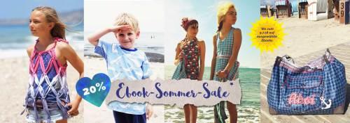 Nähanleitungen für den Sommer. Näh Ebooks für die warme Jahreszeit. Urlaubszeit, Ferienzeit