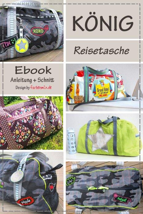 Ebook Reisetasche König - diese Woche zum Schnäppchenpreis bis zum 1. 8. 2018