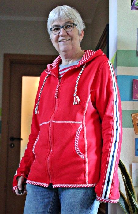 Schnittmuster für Jacken Damen und Kinder Jacke nähen mit Pellworm von farbenmix