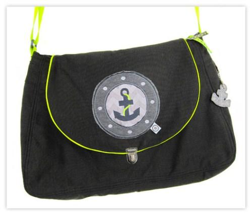 Klappentasche von farbenmix - Taschenschnittmuster kaufen und sofort ausdrucken
