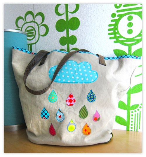 Markttasche nähen mit Taschenschnittmuster von farbenmix - jetzt als Bundle Schnittmustersammlung