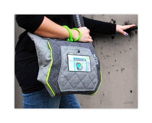 Multitasche Taschenschnittmuster Umhängetasche von farbenmix