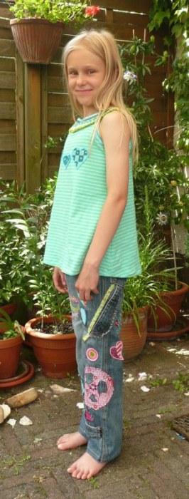 Henri - Basic Jeanshose Schnittmuster von farbenmix