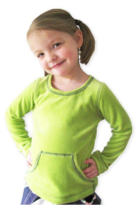 sportlich KleinFanö - schlicht mit Bauchtasche und langarm Version