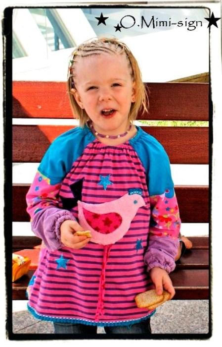 Kinderblusen aus Jersey nähen mit Gitta von farbenmix - Ebook und Papierschnittmuster