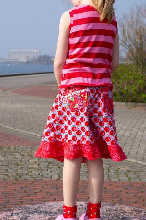 ULI von farbenmix ein Schnittmuster für einen Hosenrock und ein Sommertop