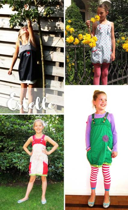 Schnittmuster Estelle von farbenmix - Anfänger Kinderkleid nähen