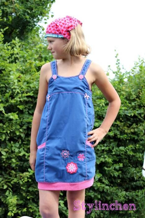 Schnittmuster für warme Tage - Trägerkleid für Kinder Estelle