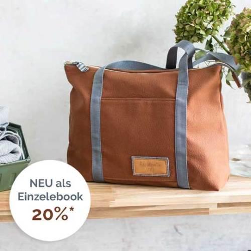 Taschenschnittmuster für Nähanfänger   farbenmix Ebook und Schritt für Schritt Anleitung mit Nähvideo