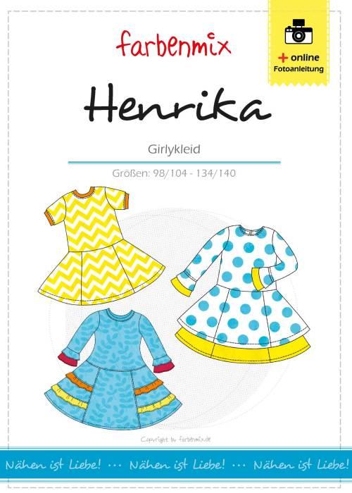 Herbstkleider bei farbenmix. Henrika als Papierschnittmuster oder Ebook ideal für eine Herbstkleid