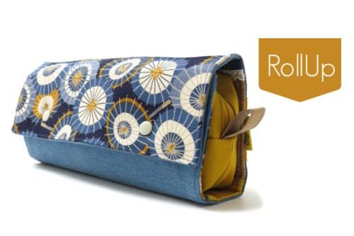 AmbaZamba praktische kleine Täschchen nähen - wie die RollUp - jetzt als Doppelebook bei farbenmix