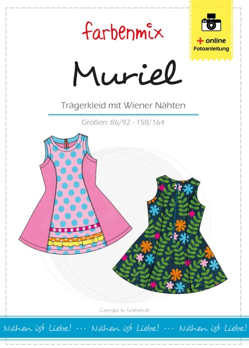 Muriel Kleid für Kinder als Ebook Version