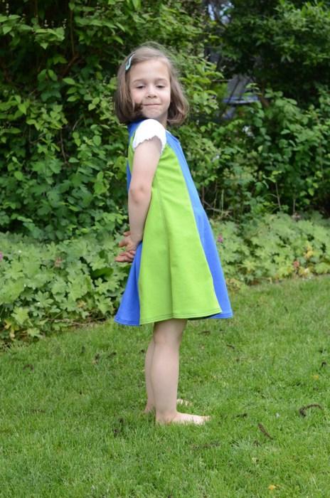 Kleid mit Wiener Nähten Muriel