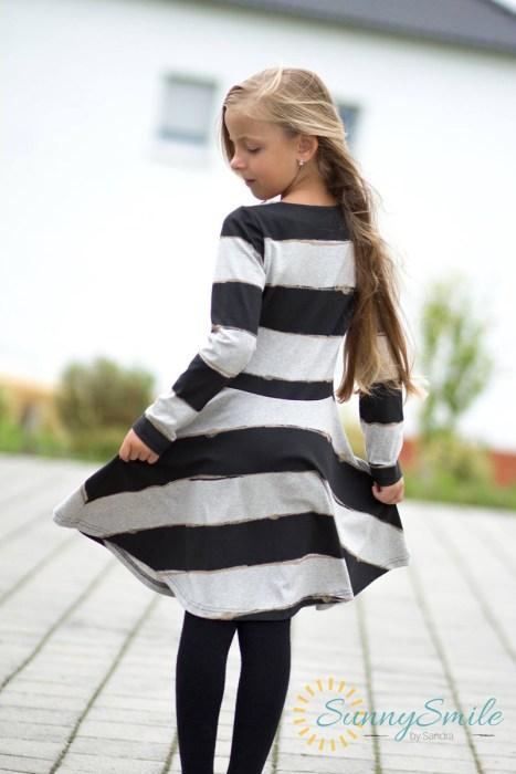 Festliche Kleider nähen NURITA design bienvenido colorido