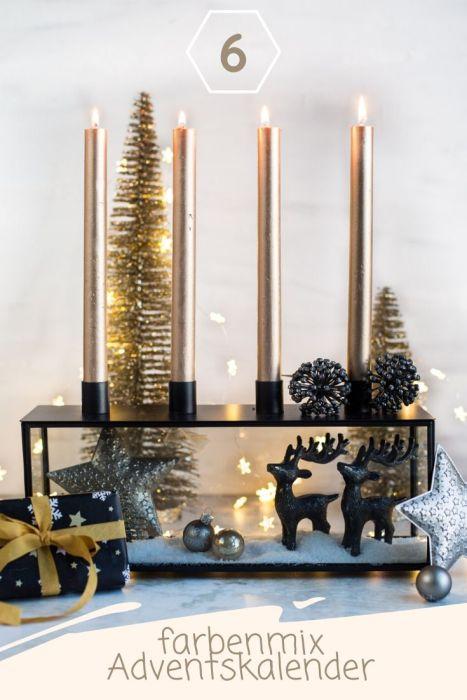 Adventskalender Tag 6 Farbenmix Adventskalendertasche 2019