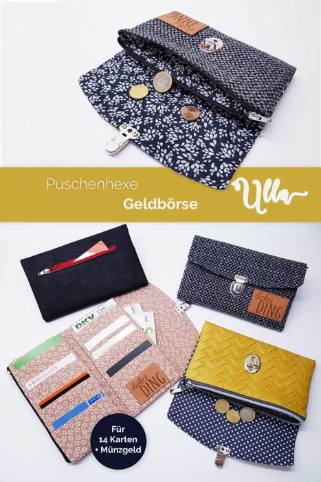 Geldbörse Ulla von Puschenhexe