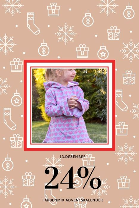 Adventskalender Tag 14 Jule farbenmix Ebook für Kids