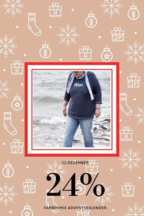 Adventskalender Tag 22 farbenmix Zoela