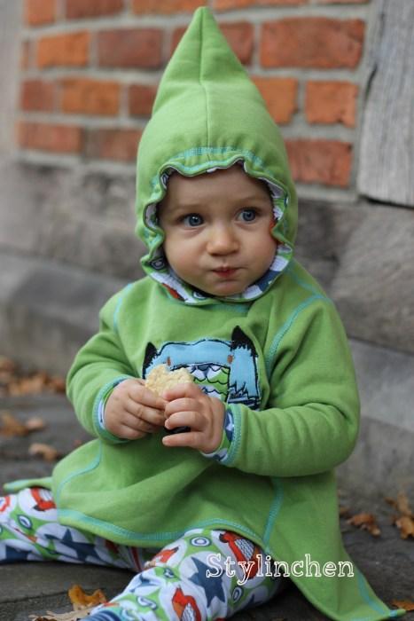 Zipfelpulli für Kinder nähen mit Anjana von farbenmix