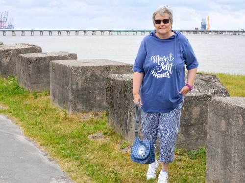 Freizeithose für Damen nähen mit Helgoland von farbenmix