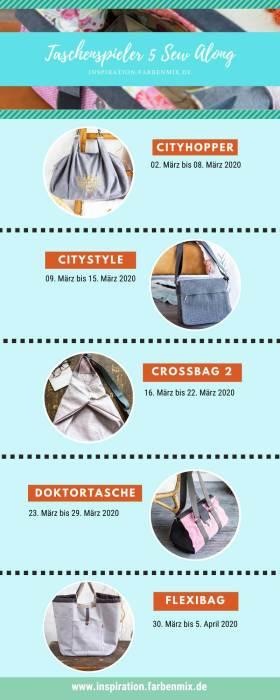 Taschenspieler 5 Sew Along mit Taschenbilder TS5SA