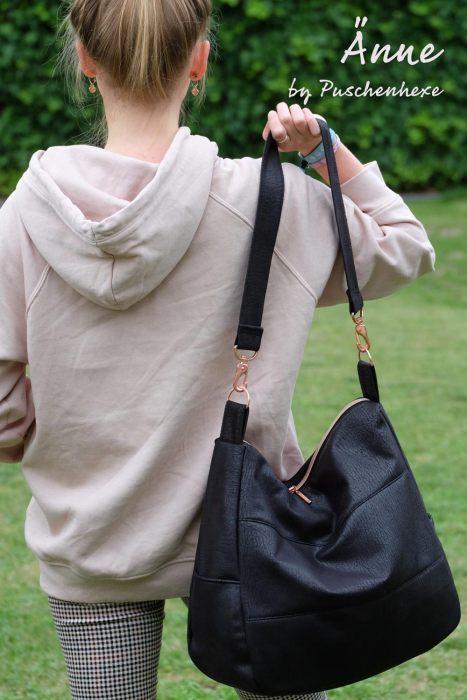 Taschen von Puschenhexe Schultertasche Schnittmuster
