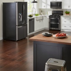 Black Kitchen Appliances Rugs Ikea 3 Ways To Introduce Stainless Steel Your Livemore Kenmore