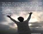 praise1 1Chro29 11-13