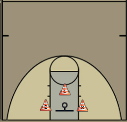 one arm shooting drill