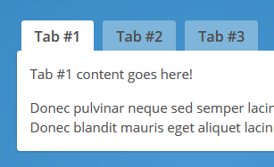Creating Tabs with HTML, CSS & jQuery