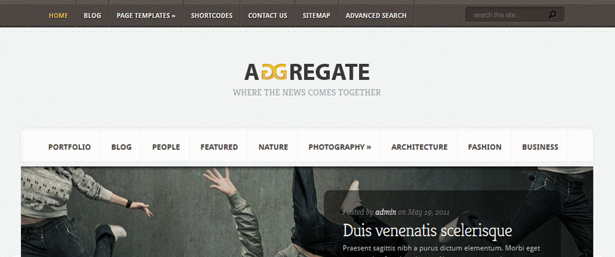 aggregate-wp-theme