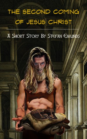 Second Coming Christ Short-story Cover Stefan Emunds