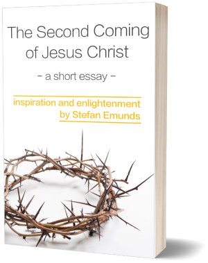 Second Coming Essay 3D Book Cover