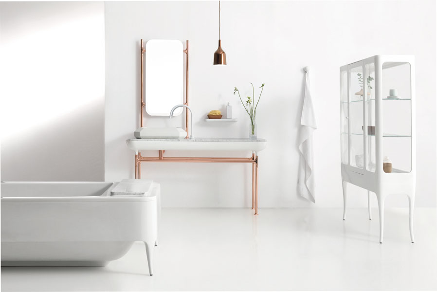 hayon collection de bisazza salle de bains design