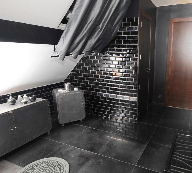 Carrelage mtro pour la station salle de bains  Inspiration bain