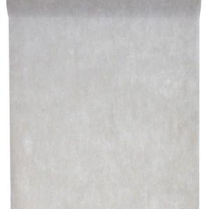 Chemin table intissé gris