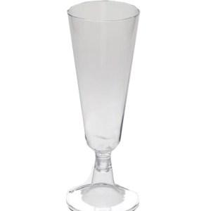Flûte plastique transparent